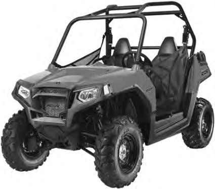 kg Hitch Tongue Capacity   150 lbs. / 68 kg MODEL: 2011 RANGER RZR EPS MODEL