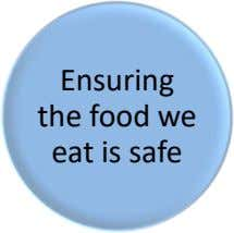 Ensuring the food we eat is safe