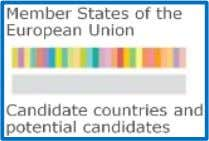 Member States of the European Union These are the 28 Member States of the European Union.