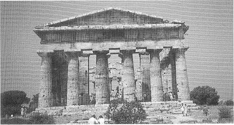 Photo: the author. 2 The Temple of Ceres, Paestum. Photo: the author. 3 The Temple of