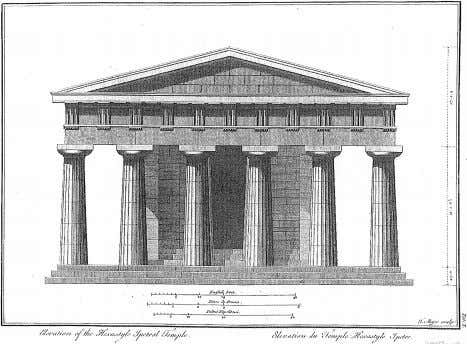VISUAL HISTORIES IN THE AGE OF MECHANICAL REPRODUCTION 6 Ort~ogonal elevation of the Temple of Neptune,