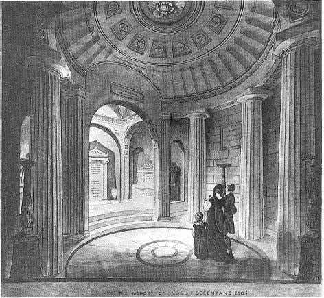 VISUAL HISTORIES IN THE AGE OF MECHANICAL REPRODUCTION 8 The Mausoleum of Noel Desenfans by Sir