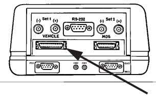 "port marked ""VEHICLE"" > CH7000A/7001A > CH9043. Figure 1.9: 25-Pin Port, CH7000A/7001A and CH9043 3 Connect"