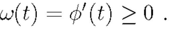 is the nonnegative derivative of the complex phase: For a sinusoidal wave, this definition coincides with