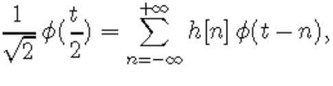is necessarily a sequence of real numbers h[n] such that or, in the Fourier domain