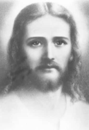 "The cover of this unique card is a photograph of Esu ""Jesus"" Sananda taken in"