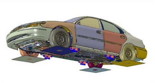 allows for more realistic K&C simulation. Key Abaqus Features and Benefits  Large catalog of