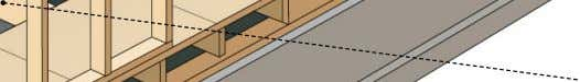itself, which it supports; it is usually made of cement. end joist Member perpendicular and attached