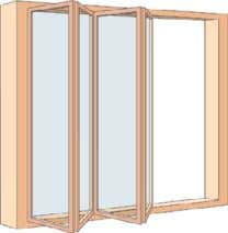 one or more overlapping sashes that slide open vertically. sliding folding window Sliding window whose sash