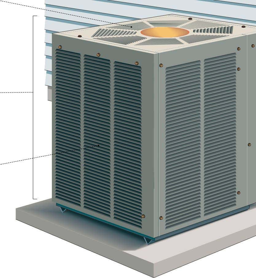 or the indoor air is cooled (cooling mode). compressor Device compressing the refrigerant to the desired