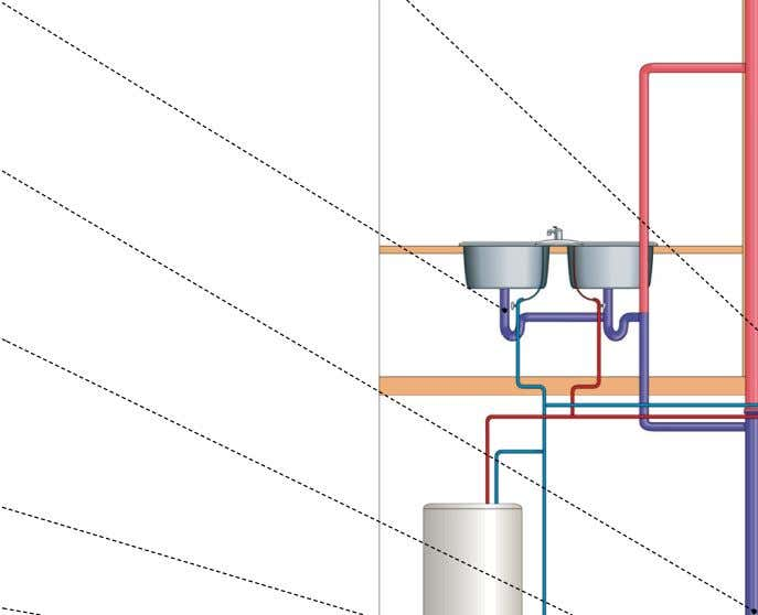 for gauging the amount of water consumed by a household. water service pipe Pipe connecting a