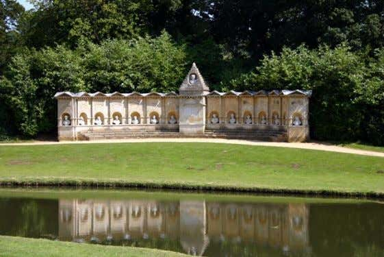 Beispieles Abbildung 13: Stowe, Temple of Modern Virtue Abbildung 14: Stowe, Temple of British Worthies Mit