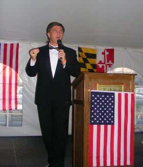 Federation of College Republicans Convention in April 2007. Governor Bob Ehrlich addresses the Cecil County Lincoln