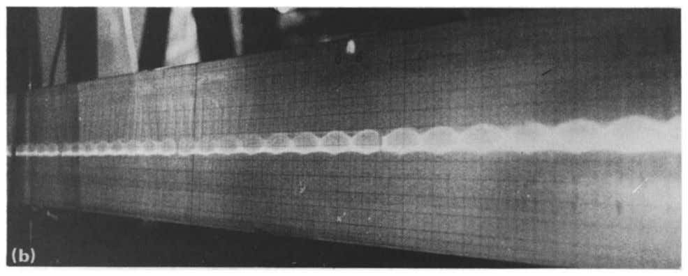 lens effect: schema. FIG. 4(b). Characteristic photograph. walls by means of the thermal lens effect, A