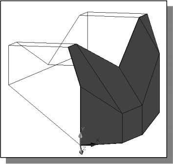 Note that the edges of the polygons are displayed as shown. 9. In the Visual Styles