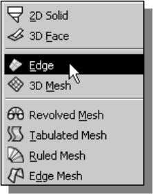 Tutorial: 3D Modeling Using the Invisible Edge Option • Copyrighted 1. Material In the pull-down menu,