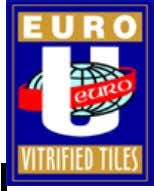 "E URO CERAMICS: Part of ""Euro Group"" Integral part of the Decorative industry in India. Promoters"