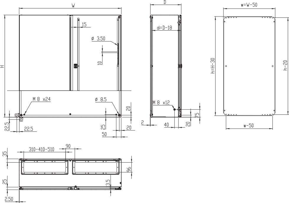 MAD1401030PER5 * 3 point espagnolette locking. Dimensions Product specifications, CAD drawings and info rmation