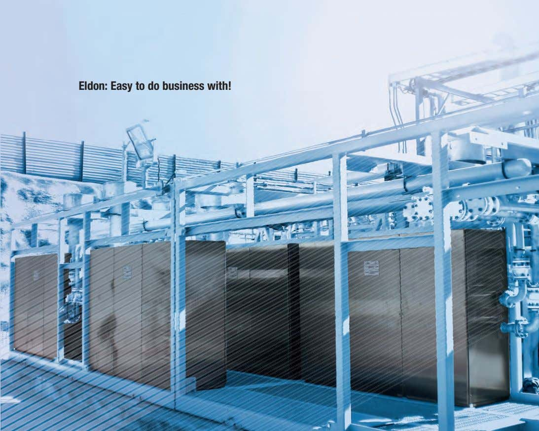 Eldon: Easy to do business with!