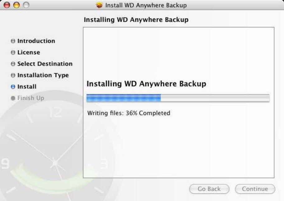 12. The install should be finished. Click on Close to close the install wizard. When