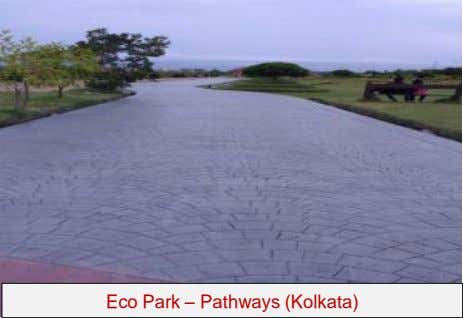 Eco Park – Pathways (Kolkata)