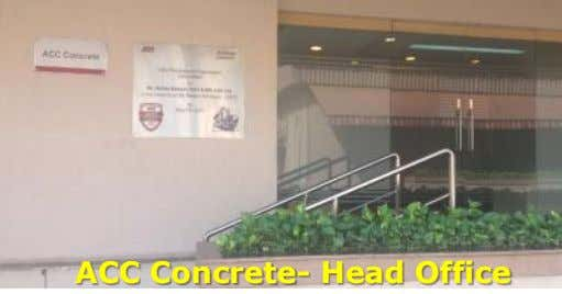 ACC Concrete- Head Office