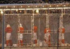 Over 500 people imprisoned in Guantanamo Bay 16,000 imprisoned in Iraq without even a trial