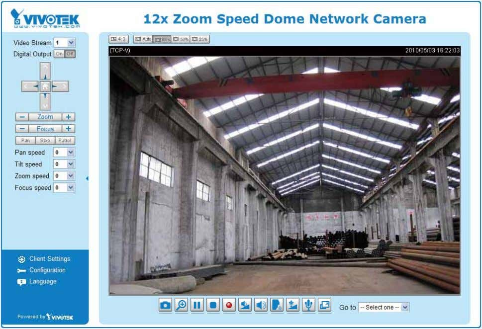 the Network Camera on the LAN. 2. Retrieve live video through a web browser or recording