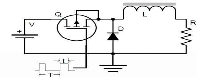 will effectively smooth the current into dc with very little ac component. Figure 4.10 simple dc