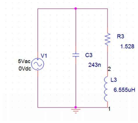 resistance (R2) of the load circuit. c. steel work piece:- Figure 4.19 Load circuit and impedance