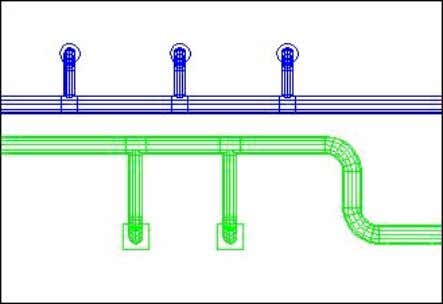 "the supply ductwork in the system from ""Not set"" to 8. Exhaust (blue) and Supply (green)"