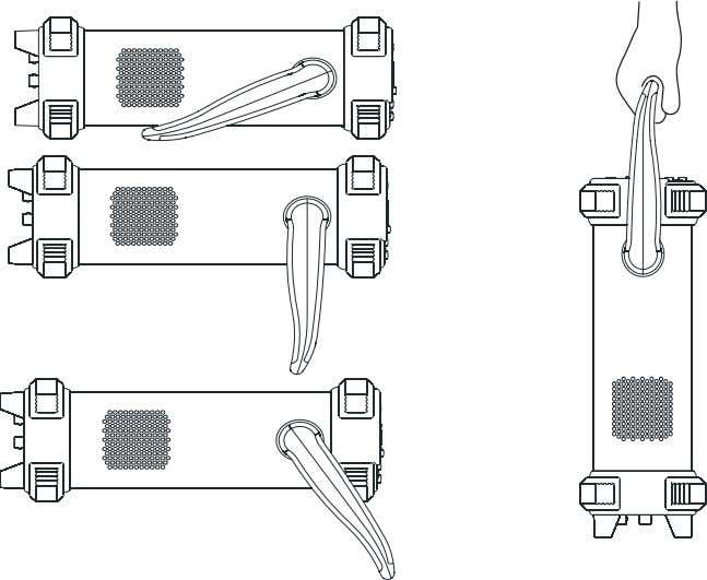 1-1 and 1-2. Figure 1-1 The method of adjusting the handle Figure 1-2 Adjustable Positions ©