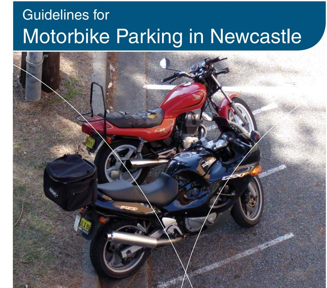 Guidelines for Motorbike Parking in Newcastle