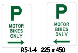 Manual) should be used in defining motorbike parking zones: Add parking period and time(s) of operations