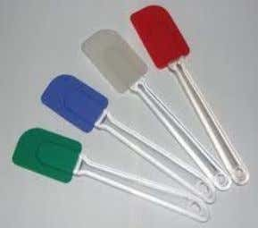 or batter. The beaters should be made of stainless steel. Scrape r- a rubber or silicone