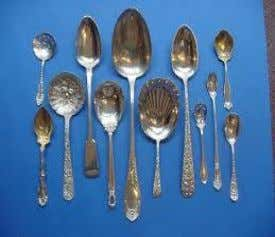 the bowl, metal, silicone or plastic egg turners or flippers Serving spoons - utensils consisting of
