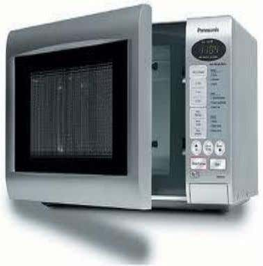 or compartment used for cooking, baking, heating, or drying. Microwave ovens used for cooking or heating