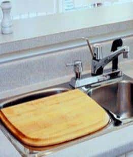 Clean, Remove Stains, Sanitize, and Store Your Cutting Board The kitchen cutting board gets a lot