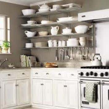 properly to minimize contamination of food contact surface. 10 Steps in Organizing Kitchen Cabinets 1. Pretend