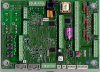 conditioning, as well as several supporting circuitries. Fig. 3. Example of a microprocessor based processor board