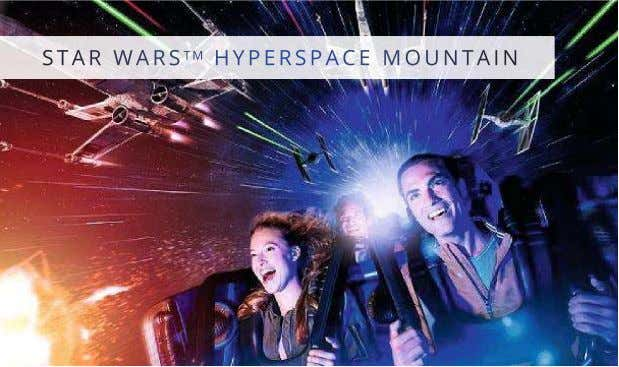 STAR WARS TM HYPERSPACE MOUNTAIN