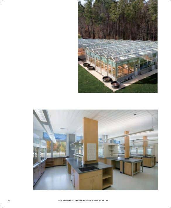 176 DUKE UNIVERSITY FRENCH FAMILY SCIENCE CENTER