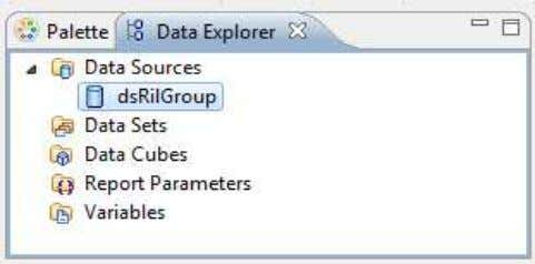 database. It appears within Data Sources in Data Explorer. Data Sources in Data Explorer Prepared by: