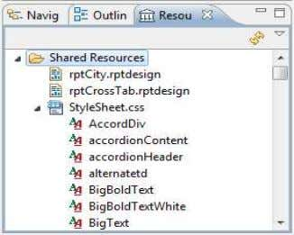in Add Resource. Add Resources with values supplied Resource Explorer showing the styles in a CSS