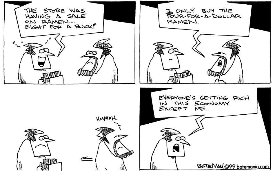 packages. Directions: Study the cartoon below. Then answer the questions that follow. Scott Bateman 8 Economic