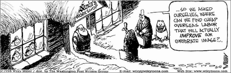 the cartoon below. Then answer the questions that follow. EXAMINING THE CARTOON Multiple Choice c1998Wiley Miller,