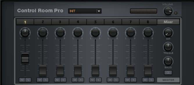 Cabinets Control Room Pro The Control Room Pro controls Controls This is essentially similar to the