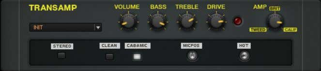 Distortion TransAmp 5.10 TransAmp The TransAmp About This versatile distortion set the stage for the emulation