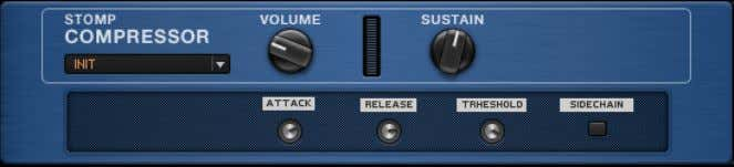 the filter reducing high frequencies. 6.5 Stomp Compressor The Stomp Compressor About The Stomp Compressor provides