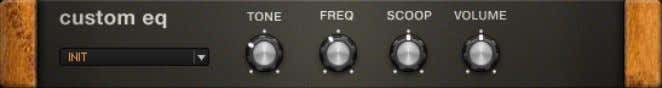 RIG 5 offers several great tools to do it. 7.1 Custom EQ The Custom EQ About